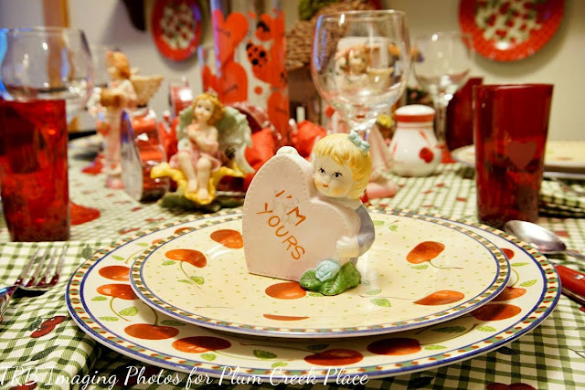 Plum Creek Place - Valentine's Day Breakfast Tablescape - Pictures are by TRB Imaging