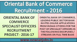 oriental+bank+of+commerce+recruitment+2016