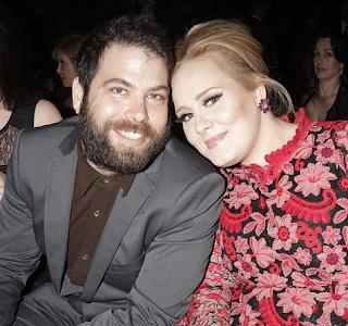 Foto Adele dengan Simon Konecki