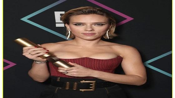 Scarlett Johansson wins Peoplehood Award for Best Actress