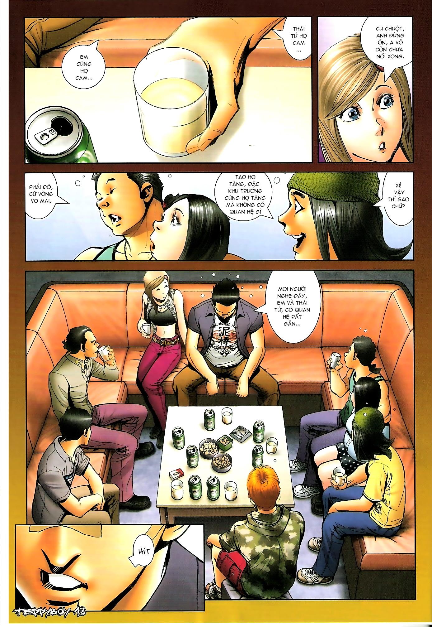 Người Trong Giang Hồ - Chapter 1310: Đừng gạt em nữa - Pic 12