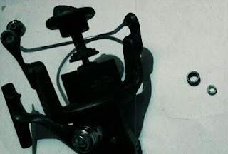 Fungsi line roller pada reel spinning