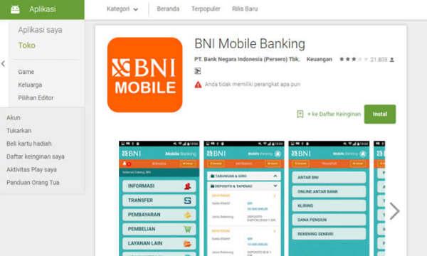 Apa Beda BNI SMS Banking Dengan BNI Mobile Banking?