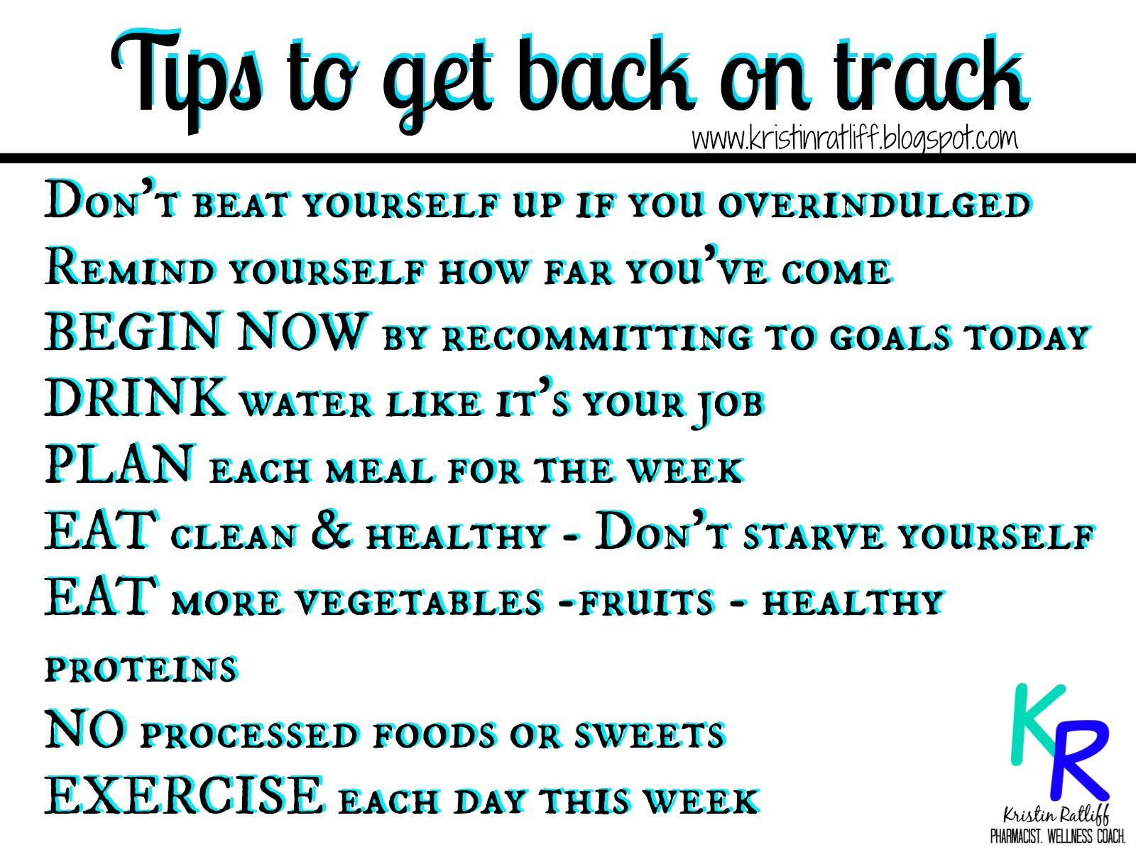 Watch How I get myself back on track video