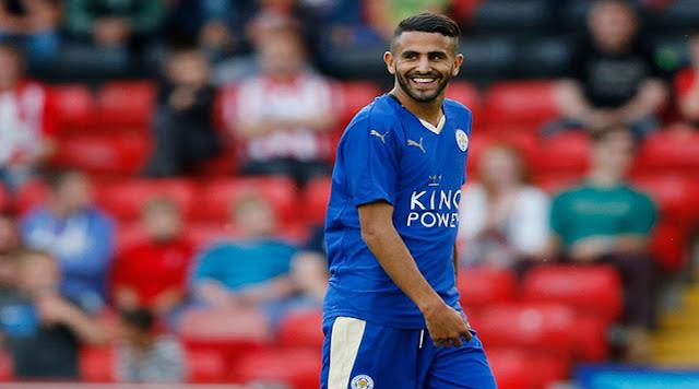 Leicester prêt à doubler le salaire de Mahrez