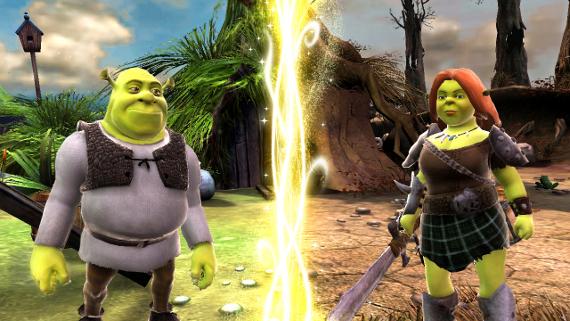 Shrek Forever After Shrek and Fiona