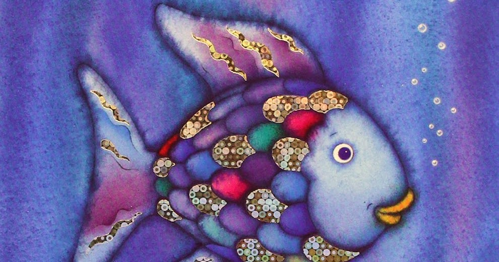 Craft An Entire School Of Quot Rainbow Fish Quot From Paper Plates