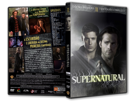 Capa DVD Super Natural - 11ª Temporada