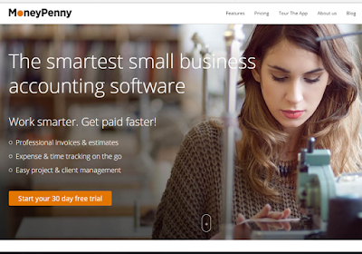 MoneyPenny is a powerful tool for small businesses and freelancers