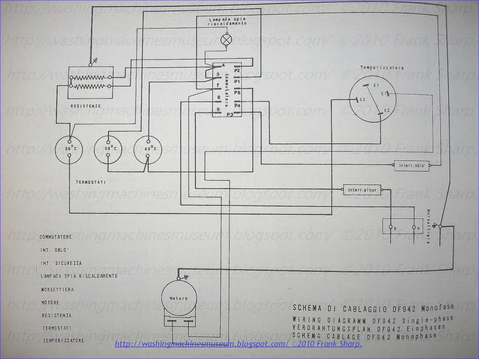 Philco Refrigerator Wiring Diagram Everything About Whirlpool Schematic Washer Rama Museum Df942 Rh Washingmachinesmuseum Blogspot Com