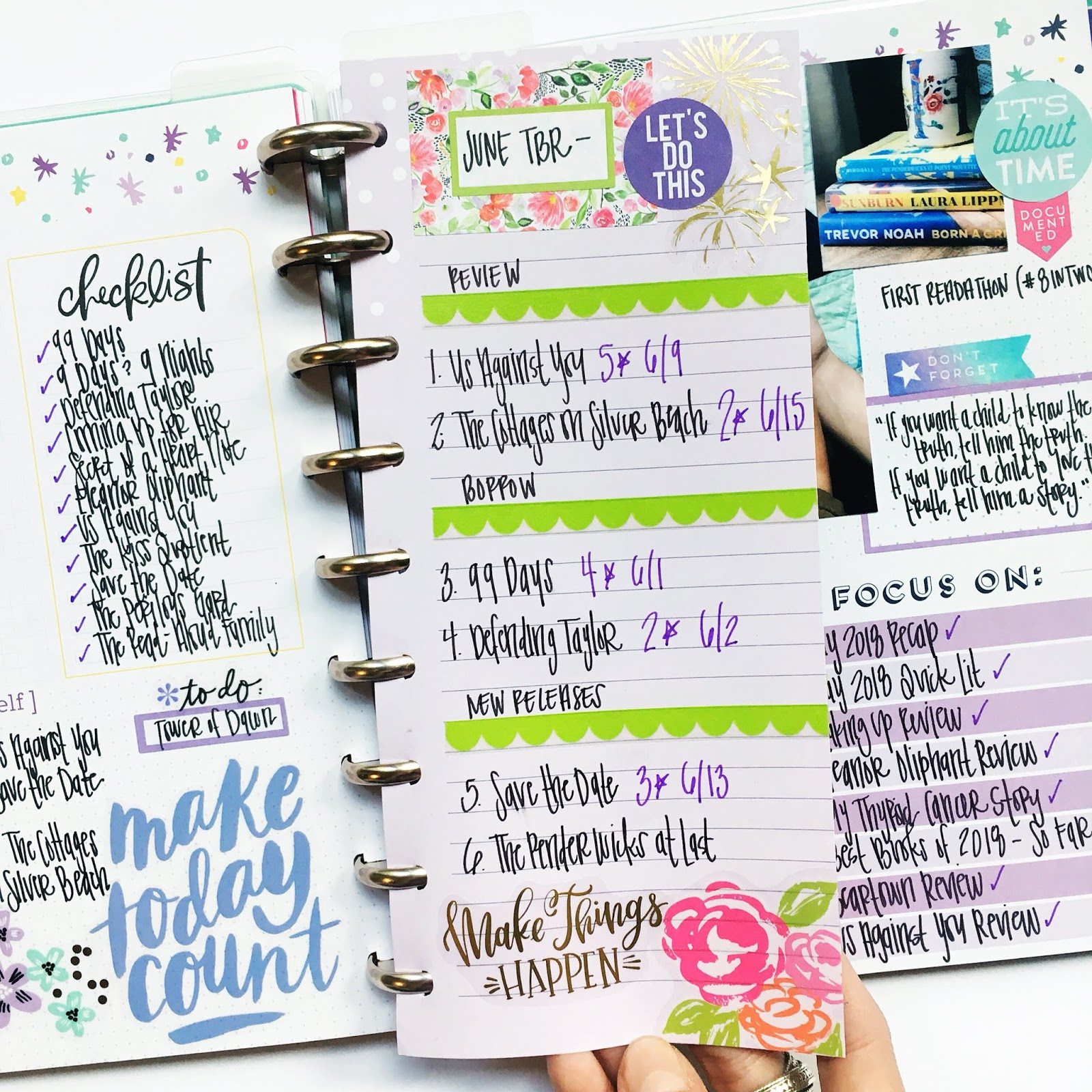 My Classic Happy Planner Books Blogging So Obsessed With
