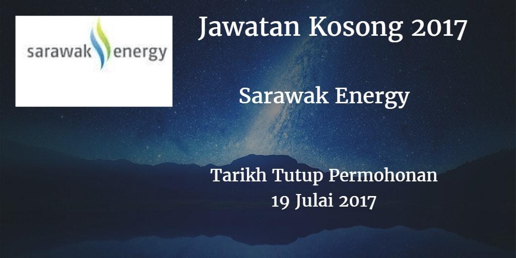Jawatan Kosong Sarawak Energy 19 Julai 2017