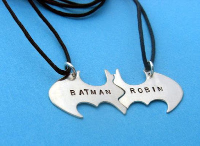 Batman Best Friend Necklaces