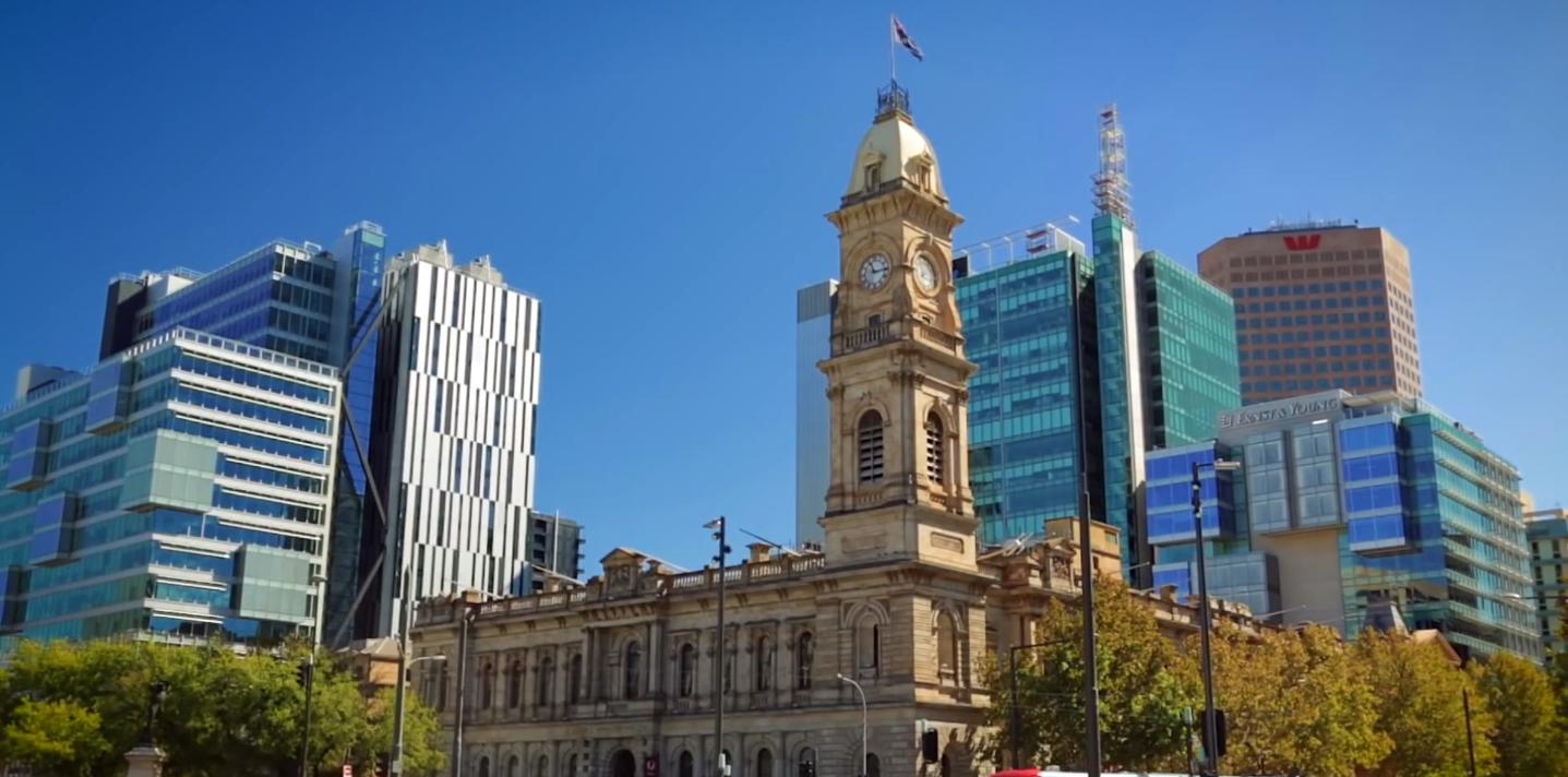 Adelaide, Cidade da Austrália