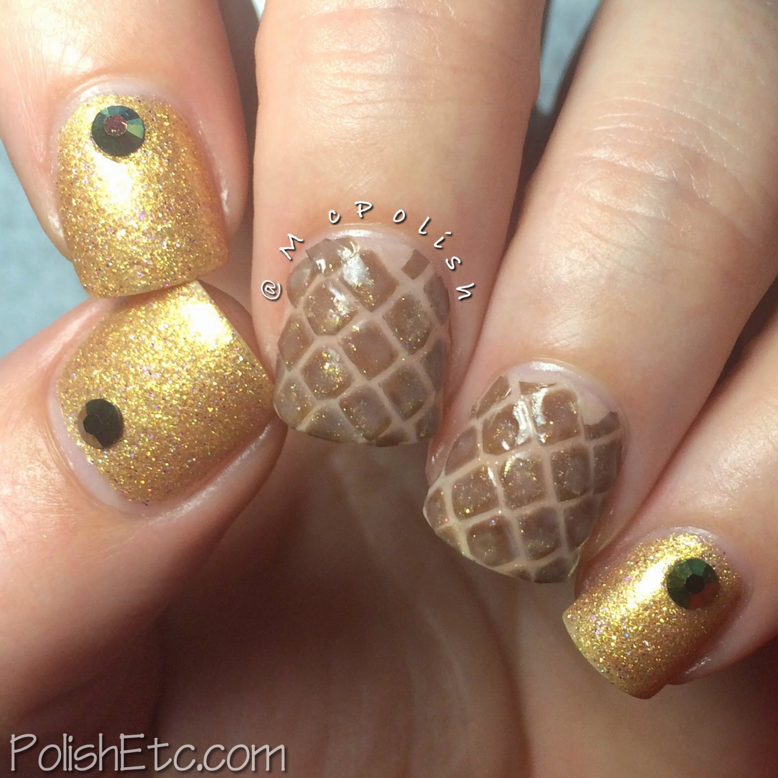 31 Day Nail Art Challenge - #31dc2014 - McPolish - ANIMAL PRINT