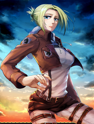 leonhardt from attack on titan