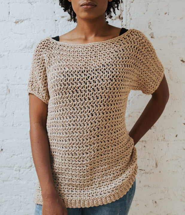 12 Free Summer Tops And Tunics Crochet Patterns Crafting Happiness