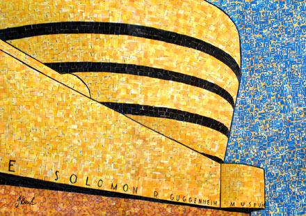 Nina Boesch's Metrocard Art