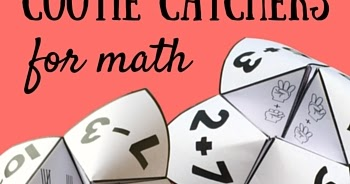 Cootie Catchers Math Games on R That Solves Math Worksheets