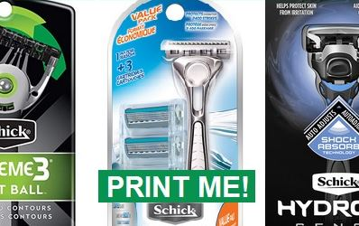 Schick Razor Coupons | Save up to $6.00 off