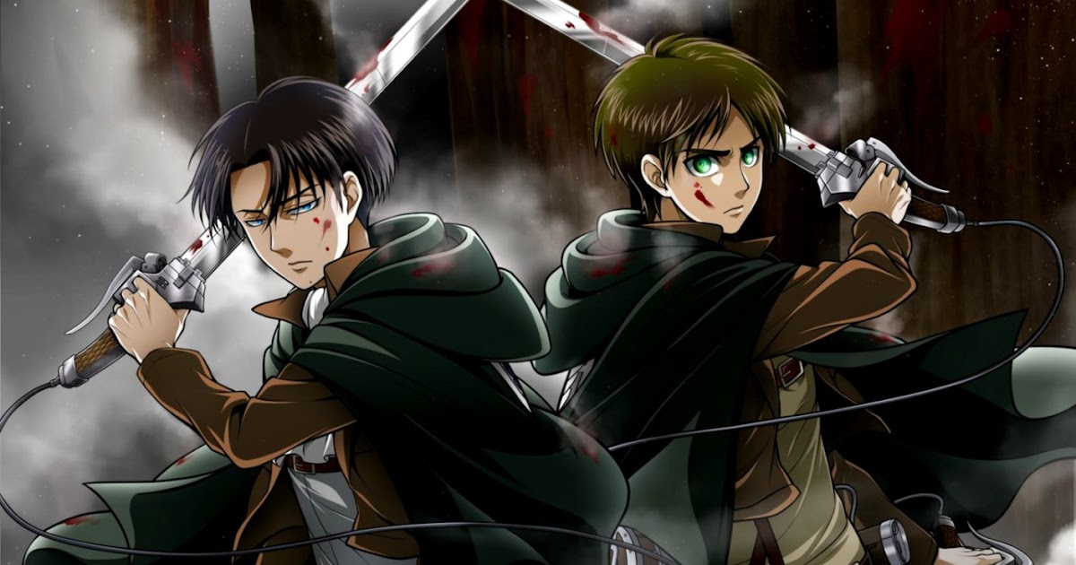 Eren And Levi Hd Wallpaper Wallpapers Style
