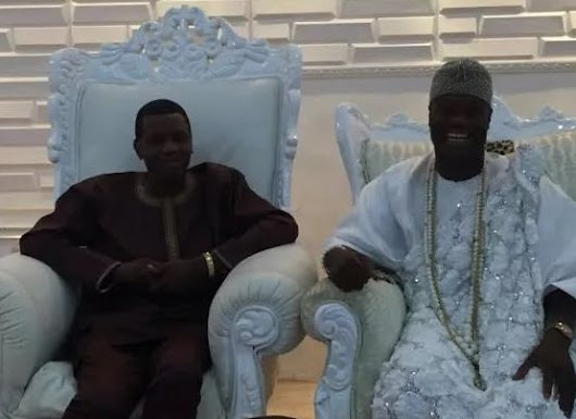 """You Represent God""; Ooni Of Ife Offers Pastor Adeboye The Highest Seat In His Palace"