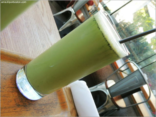 Samovar Tea Lounge: Matcha Shake $10