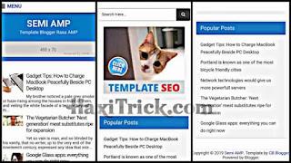 semiamp best free amp template download