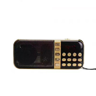 Megaphone Mikrofon Penguat Suara with USB TF Card dan Radio FM