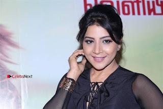 Actress Sakshi Agarwal Stills in Floral Short Skirt at Jaikira Kuthira Audio Launch  0004.jpg