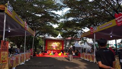 booth food market ngabuburit kuat IM3Ooredoo