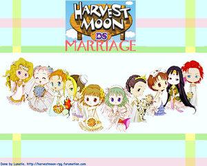 World Of Reza (@RezaLagh)~: Harvest Moon DS Cute ~ Marriage