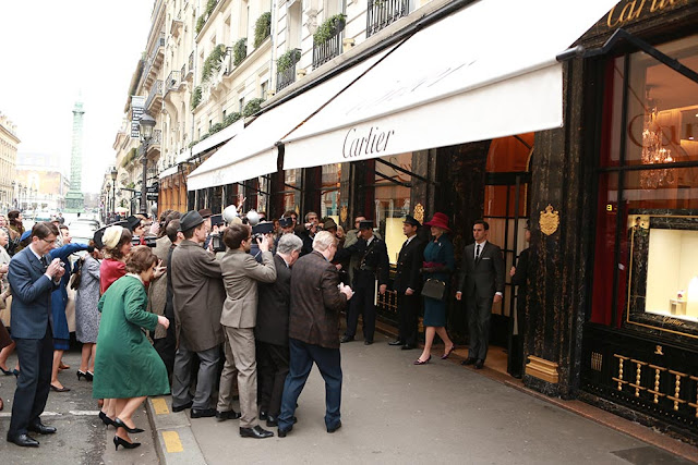 Filme Grace de monaco, foto loja da Cartier