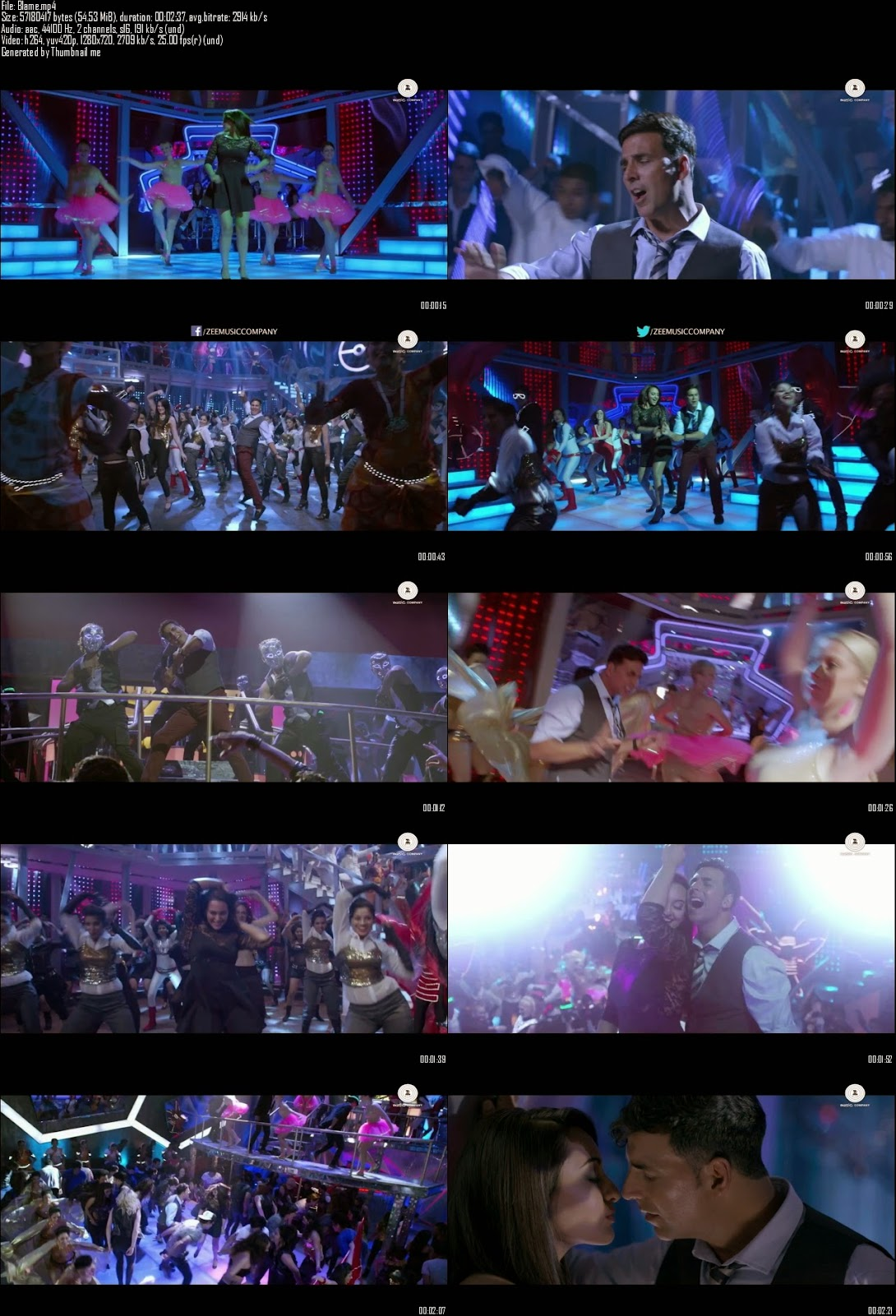 Mediafire Resumable Download Link For Video Song Blame The Night - Holiday (2014)