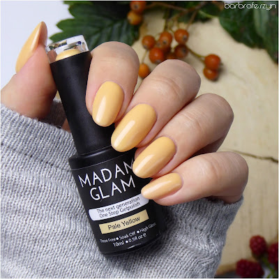 Madam Glam Pale Yellow