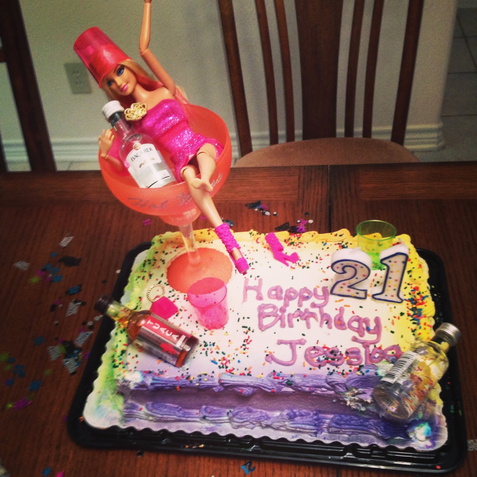 Cake Decorating Ideas For 21st Birthday : Top 62 21st Birthday Cakes Barbie Cakes Gallery