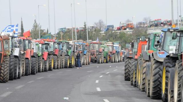 Σε αγωνιστική επιφυλακή καλεί τους αγρότες η Πανελλαδική Επιτροπή Μπλόκων