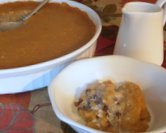 October - Apple Cider Indian Pudding