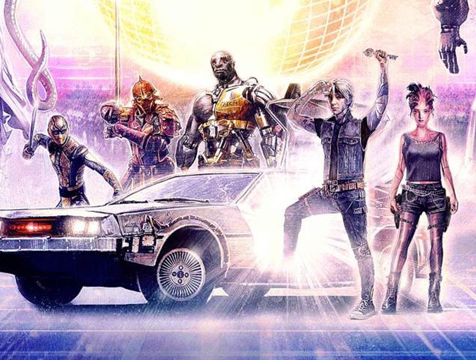 Shoto, Daito, Hache, Parzival y Art3mis en Ready Player One - Cine de Escritor