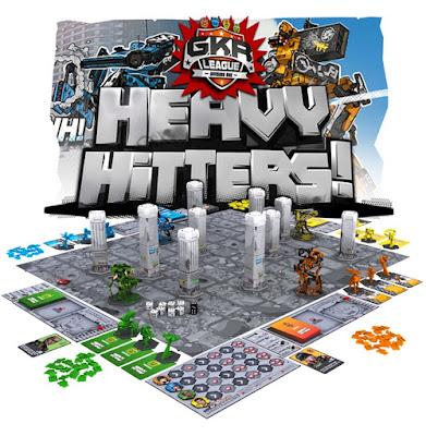 Juego de mesa GKR Heavy Hitters