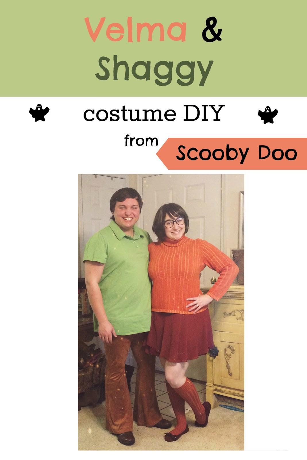 My Favorite Things: Velma & Shaggy Costume Tutorial // DIY