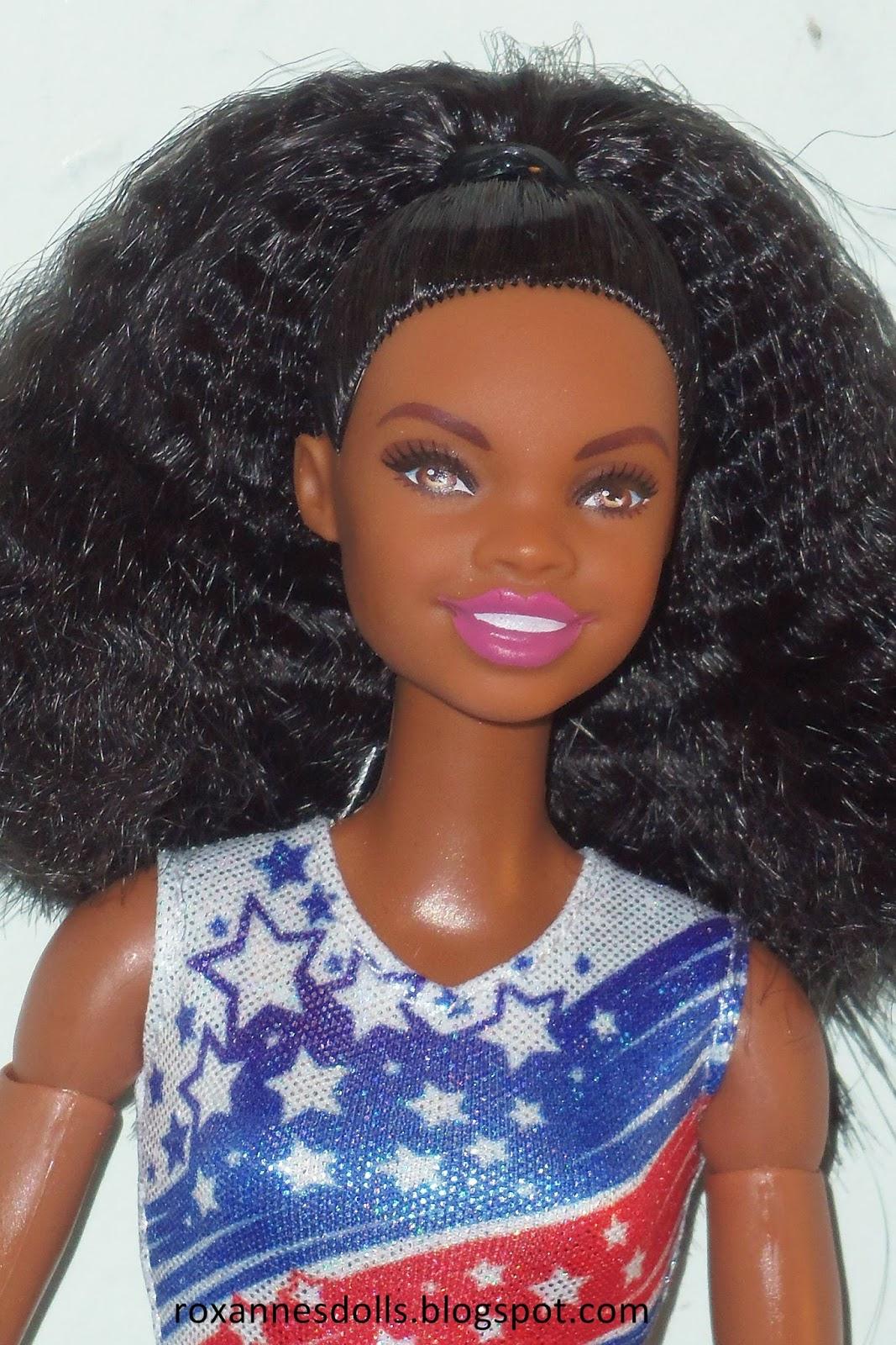 roxannes dolls gabby douglas barbie