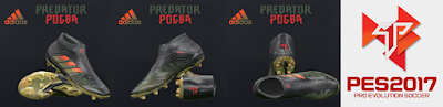 PES 2017 Adidas Predator 18+ Paul Pogba Season 4 by Tisera09