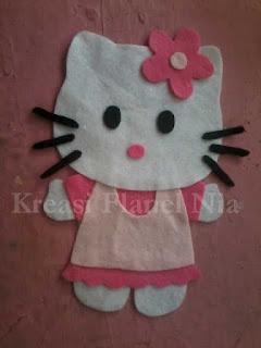 Cara Membuat Pola Kaos Hello Kitty Dari Kain Flanel