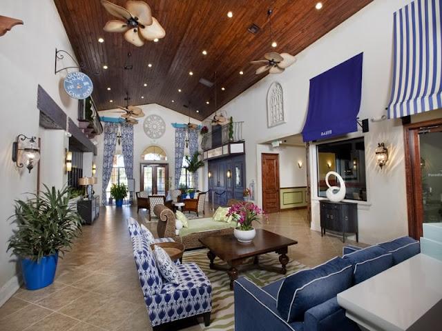 Lobby do Paradise Palms em Orlando