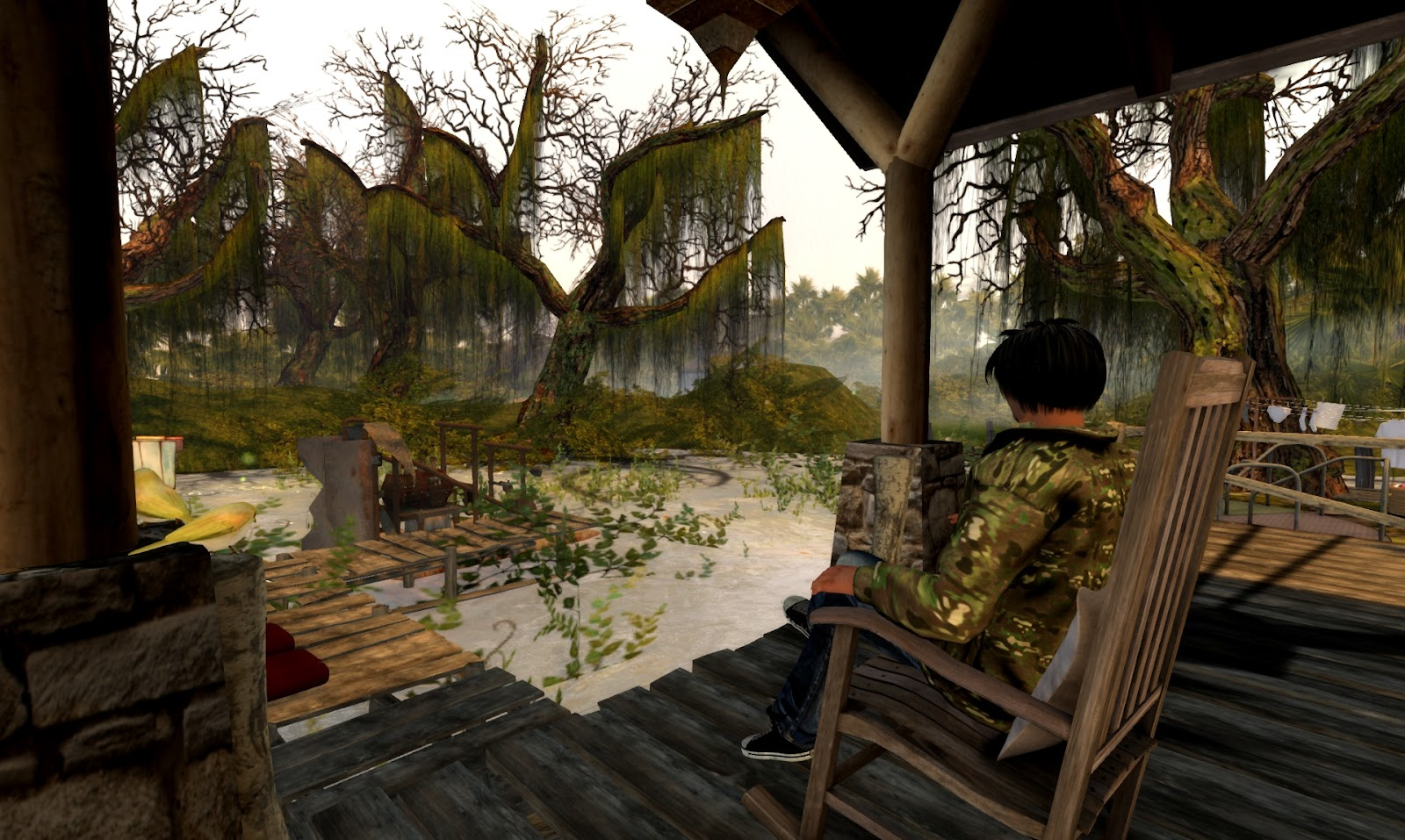 Echt virtuell simtipp wetlands for Schaukelstuhl sims 3