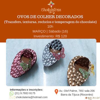 Curso | Ovos de colher decorados