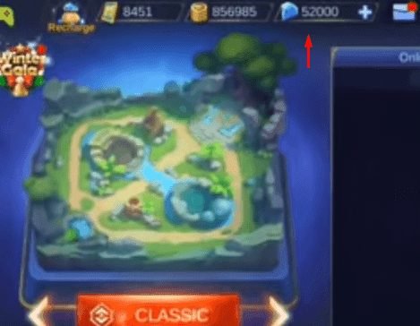 Script 50000 Diamond Mobile Legends Patch Kadita