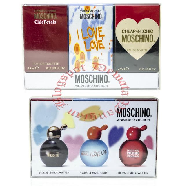 Moschino Cheap & Chic Miniature Perfume Set