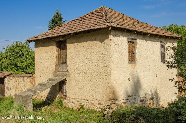 Ljubojno village, Resen Municipality, Macedonia - Traditional architecture
